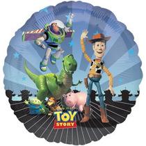 Globos De Toy Story 18 Pulgadas Entrego Inflado Con Helio!