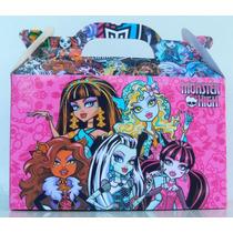 Cajita Golosinera Monster High Pack X30 Valijitas Cumpleaño