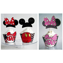Mickey Y Minnie - Wrappers Y Toppers - Tucumpletematico