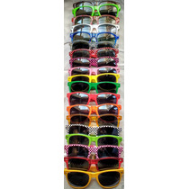 100 Anteojos De Sol Wayfarer Colors Casamientos Lisos