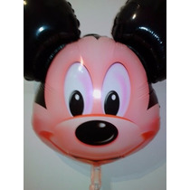 Pack 2 Globos Mickey/minnie Cabeza 60 Cm Aptos Helio /aire