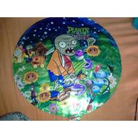 Globos Metalizos Planta Zombies,avenger,frutillita,mickeymas