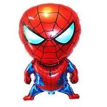 Globo Metalizado Hombre Araña Marvel Gigante Caminante X 10
