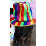 Sombrero De Tela Rayada