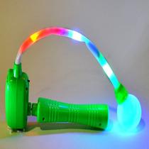 4 Matracas Luminosas Leds -cotillon Luminoso Pilas Incluidas
