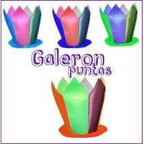 Gorro Galeron Puntan Para Fiesta Cotillon Pucci