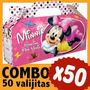 Minnie Bolsita Cajita Golosinera Souvenir Combo X 50