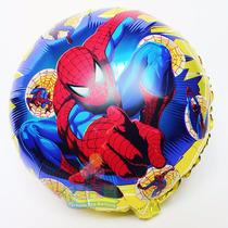 20 Globos Metalizados Helio 18 Pulgad Spiderman Hombre Araña