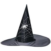 Sombrero Gorro De Bruja En Tela Vinilica Excelente Calidad