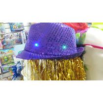 Sombrero De Guapo Con Lentejuelas Y Luz