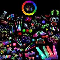 Combo Cotillon Luminoso 150 Art 75 Personas El Mejor!!!