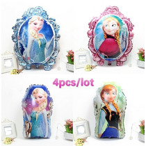 Globo X 2 Caminante Gigante Frozen, Kity, Minnie,cars,sonic