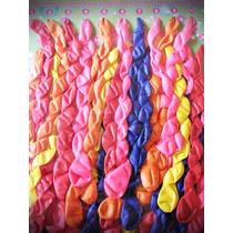 Globos Espiral Enrulados, Oferton X 40 Unid. Fiestas 15