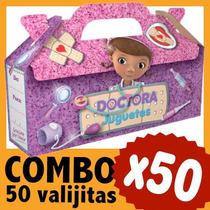 Doctora Juguetes Cajita Valijita Souvenir Combo X 50