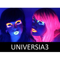 6 Colores Maquillaje Artistico Fluo Cotillon Luminoso Bodas