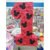 Mickey - Piñata Artesanal N°1 + Papel Picado De Regalo
