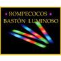 Baston Rompecocos Goma Espuma Multicolor Cotillón X 10 !!!