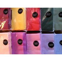 Caja X 48 Paq Servilletas 24x24 Mayorista 8 Colores A Elegir