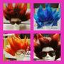 Dragon Ball Z - Goku - Peluca Para Disfraz - Excelente !!!