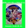 Globos Metalizados 45 Cm Souvenir Toy Story Batman