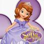Cotillón Cumple- Princesa Sofia-piñata Hexagonal- 30 Chicos-
