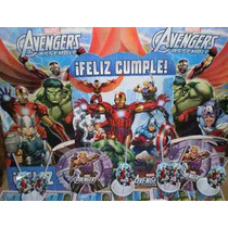 Set De Cotillon Tematico P/10 Chicos De Avengers/spider/cars