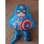 Globos Con Forma 67 Cm Capitán América Aire O Helio