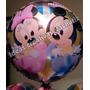 Globos Metalizados De Mickey Bebes De 18 (45cm)