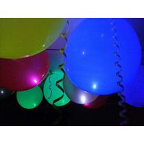 Globos De 12`` Con Luz Led