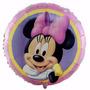 Globo Metalizado X 20 Souvenirs Minnie, Mickey, Revender Pep
