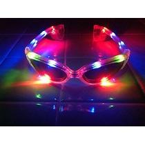 Anteojo Luminoso Multicolor De 6 Leds Cotillon Luminoso