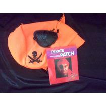 Halloween Disfraz Pirata Bandana Y Parche
