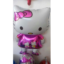 Globo Metalizado Hello Kitty Con Forma
