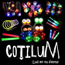 Cotillon Luminoso Pack Combo 200 Art. Led Premium!