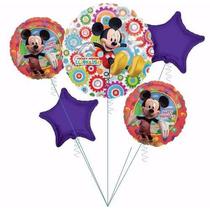 Globo X 15 Metalizado Souvenirs Mickey, Minnie, Disney,