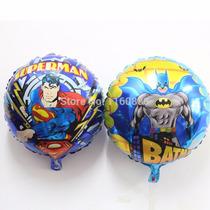 Globo Metalizado Superman Big Hero 6 Michey Batman 18 Pulgad