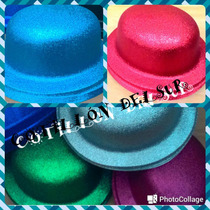 Sombrero Gorro Galera Bombín Gibre Cotillon Fiesta Carioca