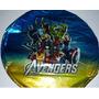 20 Globos Metalizados Los Vengadores Souvenirs The Avengers