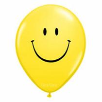 Globos Smile X6 / Carita Feliz Cumpleaños Fiesta Gora Gora