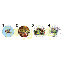 20 Pines Toy Story Personalizados (55mm)