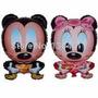 Globo Metalizado De Mickey/minnie Con Forma De 24 Pulgadas