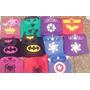 Souvenirs Capas Superheroes Y Antifaz $20
