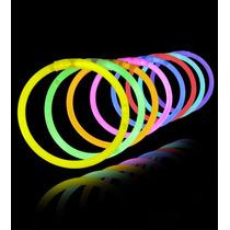 Pulsera X 50 Neon Luminosa Química Luz Cotillon