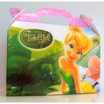 Cajita Golosinera Tinker Bell Campanita Pack X50 Valijitas