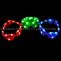 Cotillon Luminoso Anteojos 12 Leds X 10 Uni // $49 C/u