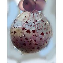 Piñata Burbuja Estampada Con Corazones Estrellas Arabescos