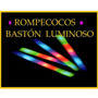 Baston Rompecocos Goma Espuma Multicolor Cotillón Led X30!!