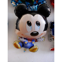 Globos Metalizados. Minnie Bb O Mickey Bb 60cm