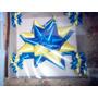 Moño Para Auto,estrella Eco Bicolor,15 Años, Cotillón, Boca