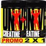 Promo 2x1 Creatina Universal Usa 100% Creapure 200 + 200 Grs